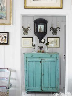 Podge Bune Beach Cottage - Beach House Decorating Ideas - House Beautiful