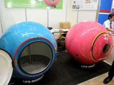 Would You Get In This Ball In Case Of Natural Disaster? | OhGizmo!