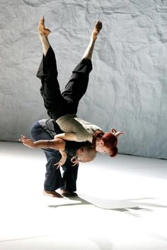 "Sylvie Guillem and Akram Khan in ""Sacred Monsters"""