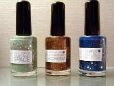 Customblended DOCTOR WHO nail polish!!!!!!!!! :D