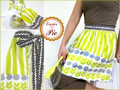 Half Apron with Jumbo Pockets | Sew4Home