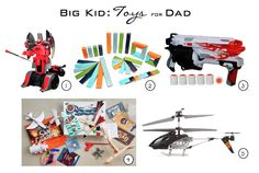 Holiday Gift Guide for Dads #toysformen