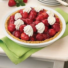 Fresh Strawberry Pie Recipe from Land O'Lakes