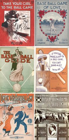 vintage baseball music