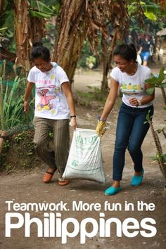 Teamwork. More Fun In The Philippines