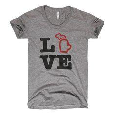 Michigan love - want this!