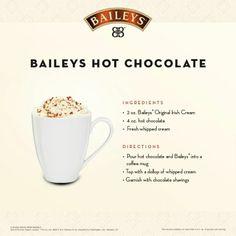 Bailey Hot Chocolate