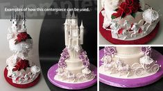 Sugar Horse and Carriage Centerpiece - Yeners Way Cake Decorating Tutorials