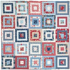 McCall's Quilting America Makes Fast Quilts: Westward Journey Quilt Along. Beth's completed version.
