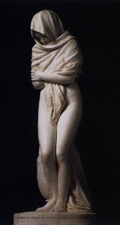 The Cold Girl by Jean-Antoine Houdin