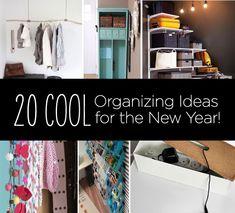 DIY, Buy, Hack! 20 Organizing Ideas for 2013!