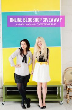 BLOGSHOP: Online Class Giveaway and Discount Code! #theeverygirl