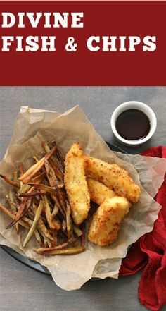 Baked Fish and Chips | Recipe