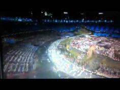 USA Entrance To The 2012 London Olympics Ceremony