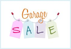 tips for organizing garages, organizing tips, organized garage sale, hous, garage sales, organ garag, yard sale, garage sale tips, garag sale