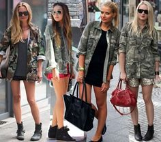 military chic. #style #fashion #trends