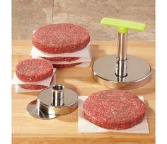I want burger press