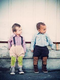 Little boys look so cool!