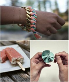Summery bracelet! Love it!