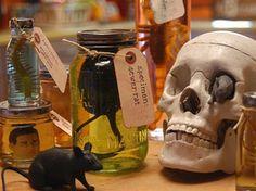 Mad scientist jars