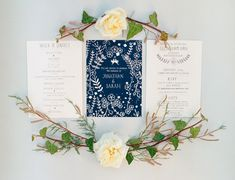 Navy blue wedding stationery, photographed by http://www.taylorandporter.co.uk/