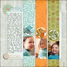 Inspired by Paper Scrapbooking