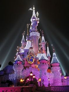 Disney Paris Sleeping Beauty Castle
