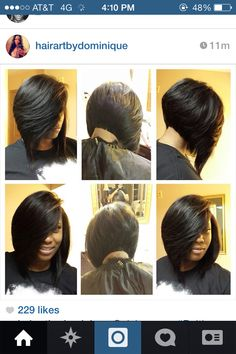 Quick Weave Bob Hairstyles