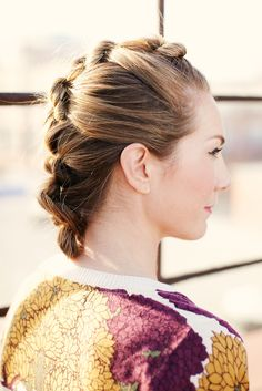 Style 4: Knot Your Average Brunch Hair