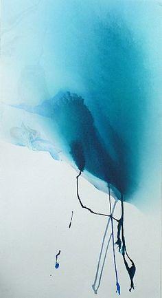 paper, blue river, river flow, rivers watercolour