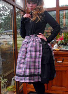 Kilt Skirt #howto #tutorial