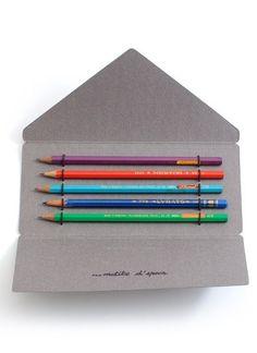 Pencil case. #felt #pencil #case #cardboard #crafts
