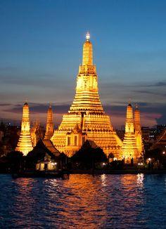 Wat Arun, the Temple of Dawn, Bangkok