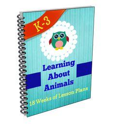 Animal Study Lesson Plans for Grades K-3