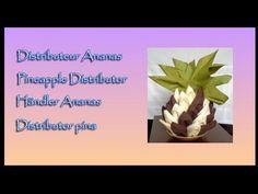 Pliages de serviettes, Napkin folding : Ananas - Pineapple - Piña - YouTube