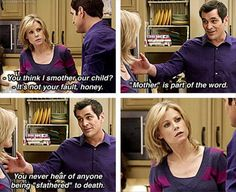Modern Family. family pictures, family quotes, laugh, modernfamili, funny pictures, funni, modern famili, modern family, families