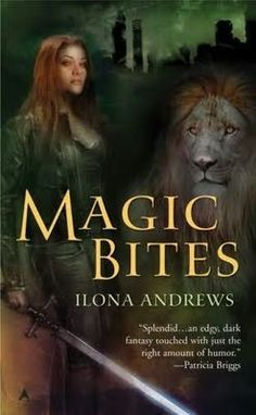 Hmmm....I should check this out. :) Kate wields a sword, vampires are corpses and the main shifter is a lion.  Illona Andrews is a creative force to be reckoned with and her Kate Daniels series will slap you in the face until you take notice.  LOVE this series.  Not so crazy about the cover art, but the series is awesome.