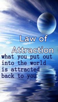 The Universal Law of Attraction. Likes attract likes.