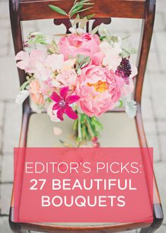 Our editor's favorite bouquets //// {Photo credit: Photo by Mollie Crutcher}