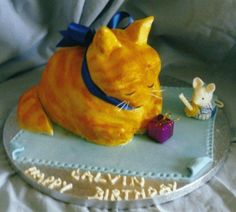 Doggi Birthday Cake