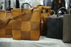 Louis Vuitton Spring 2014 Men's Bags and Accessories - Oversized damier