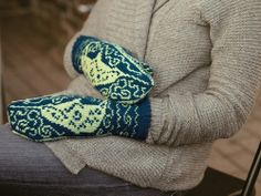 Narwhal Mittens - amazing knitting pattern
