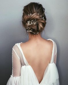 wedding updo hairsty