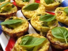 What's for Dinner?: Crustless Mini Quiche