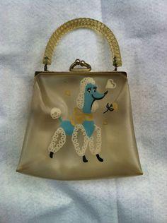 Vintage Poodle Handbag