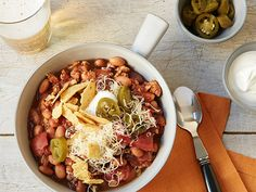 Slow Cooker Turkey Chili Recipe : Food Network Kitchens : Food Network - FoodNetwork.com