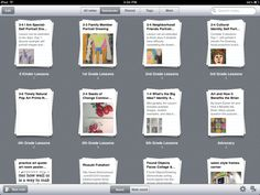 Evernote notebook lesson planning with Evernote