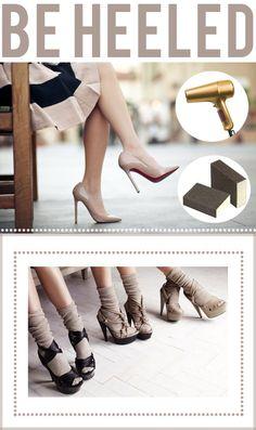 HOW TO Break in new heels