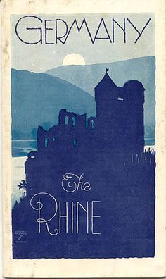 Rhine love this style of poster