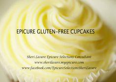 EPICURE'S GLUTEN FREE LEMON CUPCAKES - mmmmm mmmmm